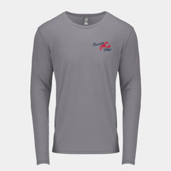 Billy's Rum Punch - Men's Triblend Long-Sleeve Crew Thumbnail